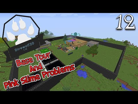Lets Play Minecraft Direwolf20 1.12 - Base Tour And Pink Slime Problems (12)