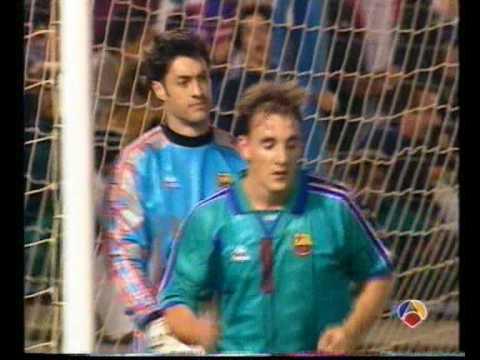 regate de Pineda a De la Peña CF.Extremadura - FC. Barcelona
