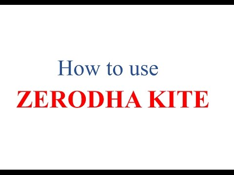 How to place BUY/SELL Order  : Zerodha Kite