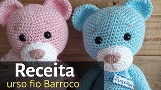 Urso Panda Receita de Amigurumi de Crochê por Little Bear Crochets | 180x320