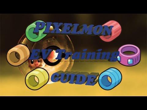 Pixelmon EV Training Guide