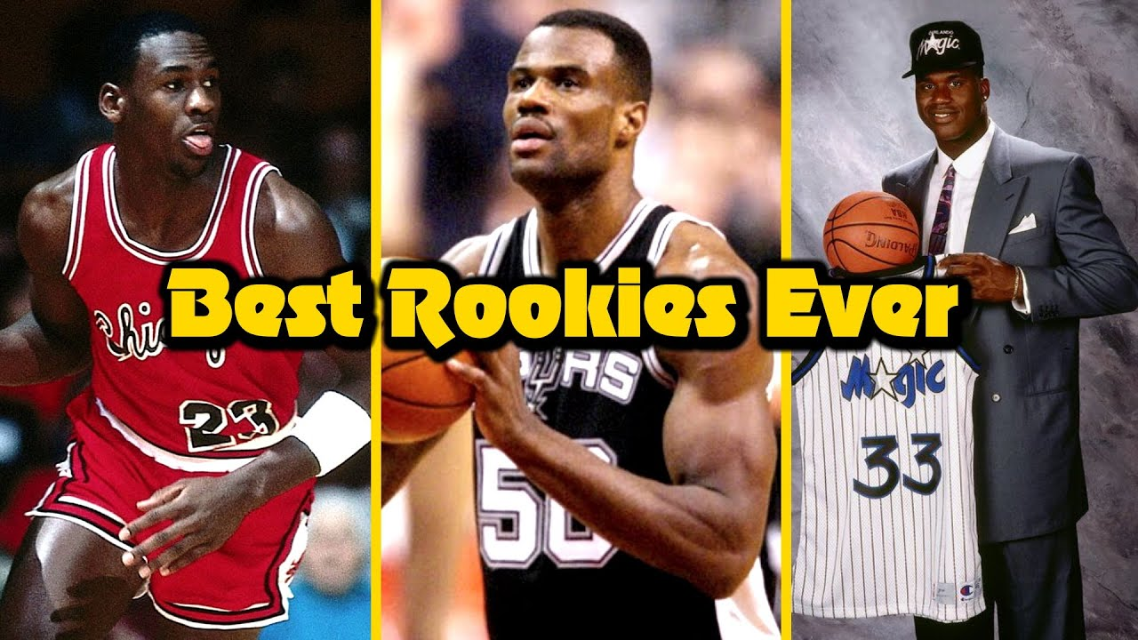 Ranking the 10 GREATEST Rookie Seasons in NBA History!
