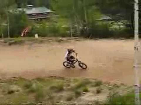 Highland Mountain bike park, Sherwood Forest dirt jumps and pump track 2009 Shane Kelly