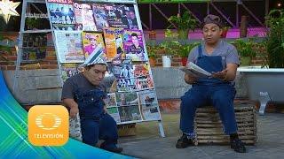 Los Periodiqueros: Maluma y Marc Anthony   ¡El Coque Va!   Televisa Televisión
