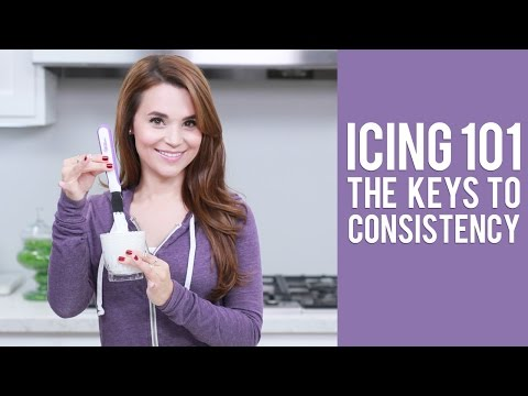 ICING 101|The Keys to Icing Consistency | Everything You Want to Know from Rosanna Pansino