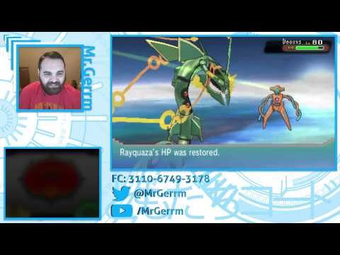 [Stream]Pokémon ORAS - Deoxys Ultra Ball Capture