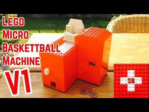 Lego Micro Baskettball Machine V1