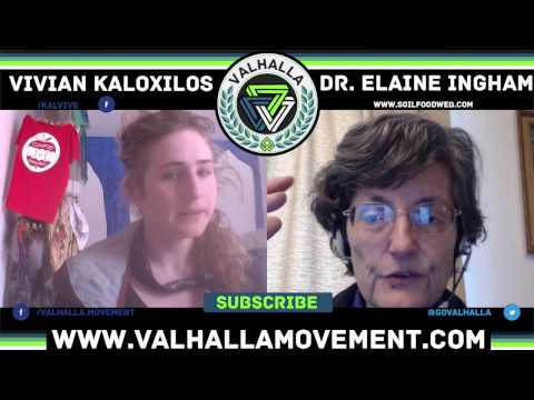 Urban Composting with Dr. Elaine Ingham From Soil Food Web || Valhalla Movement Network