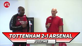 Tottenham 2 1 Arsenal We Gift Wrapped Them The Win Lee Judges