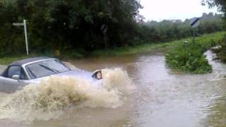 When cars and Water do not mix!