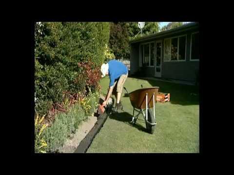 Garden Edging Concrete DIY or Professional