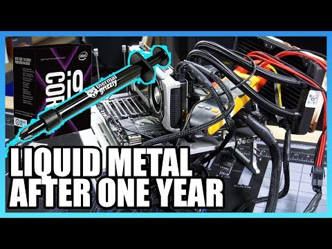 Tested for a Year: How Often Should You Change Liquid Metal?