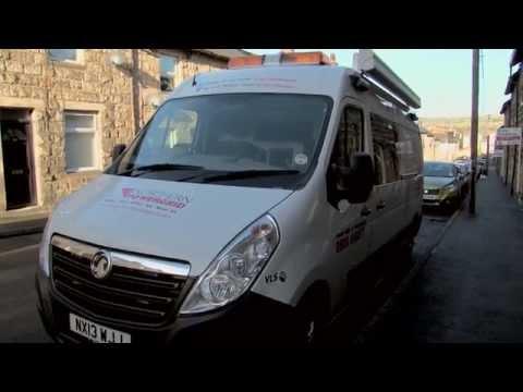 Customer Service Video - Northern Powergrid Support Van