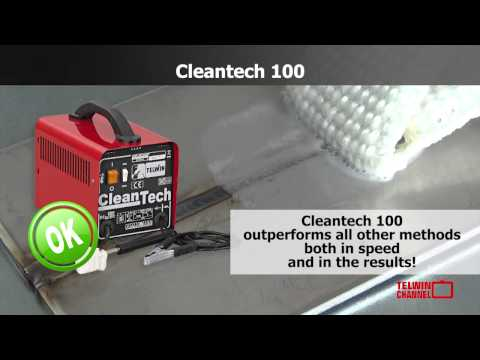 CLEANTECH 100: Stainless Steel Weld Cleaner