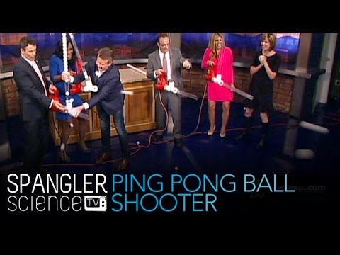 Ping Pong Ball Shooter - Summer Fun - Cool Science Experiment