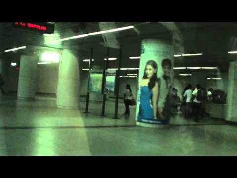 MRT Cubao Station to Santolan Station Ride 2013