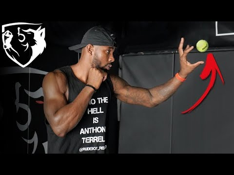 Boxing Drill for Timing & Accuracy with Tennis Ball