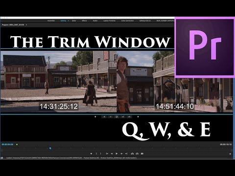 Episode 14 - The Trim Window & Shortcuts - Tutorial for Adobe Premiere Pro CC 2015