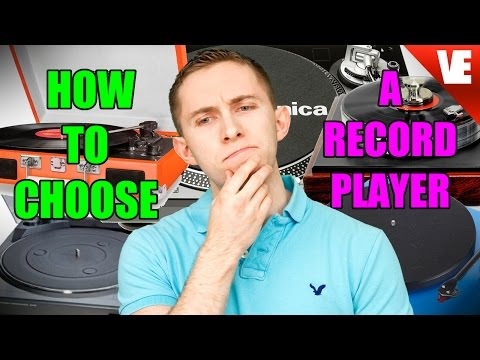 How to Choose a Record Player