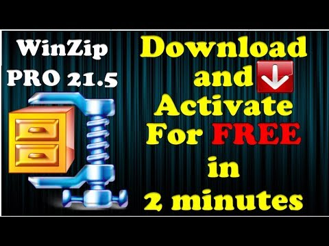 How To Download & Install Free Winzip 21.5 ✔For Windows 7,8,10 - Compress Extract Files by GET SMART