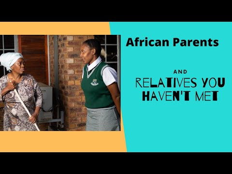 Thenjiwe Comedy- When African Parents Make You Talk to Relatives You Don't Know Cover