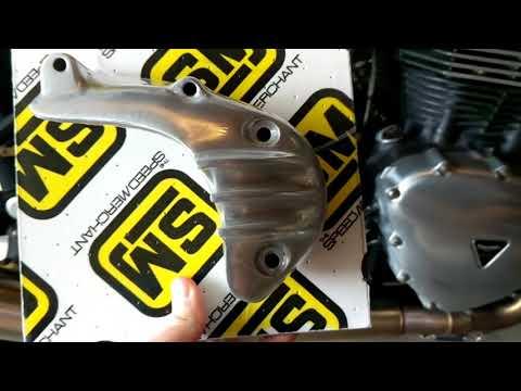 Triumph Thruxton 900 Sprocket Cover Upgrade