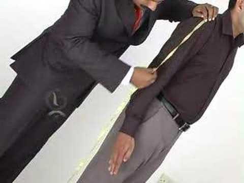 Suit Measurement 08 - Right sleeve