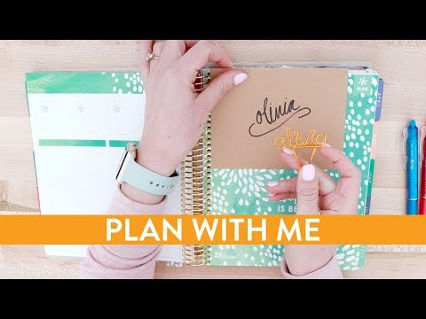 PLAN WITH ME | Small Business Goal Setting & Time Management | February 2018