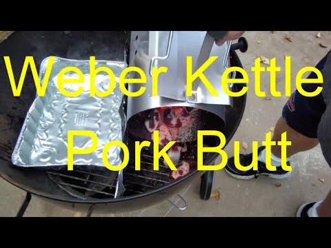 Weber Kettle Pork Butt
