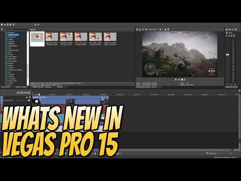 Let`s Take A Look At VEGAS PRO 15 First Look & New Features   Is It Worth Buying?
