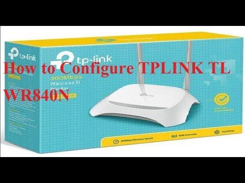 How to Configure TPLink TLWR840N 300Mbps Wireless N Router|TPLINK TL WR840N Default Login Password