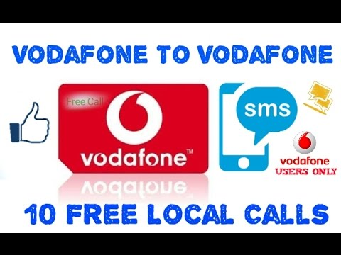 Vodafone To Vodafone_10 Free Calls (proof)