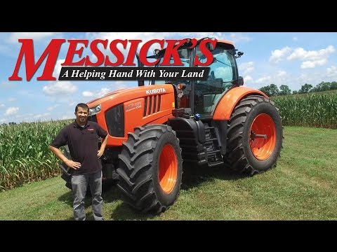 New Kubota M7 Series tractor overview by Messicks