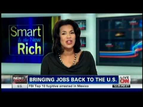Manufacturing Jobs Coming Back to America (2012)