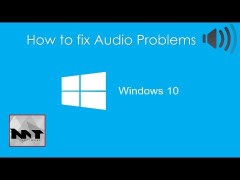 How To Fix Audio Problems on Windows 10