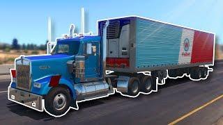 INTENSE MULTIPLAYER TRUCKING! - American Truck Simulator Multiplayer Gameplay!