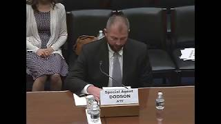 Agent Dodson Testimony   Fast and Furious- Six Years Later