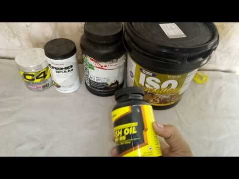MuscleBlaze Fish Oil 1000 mg Omega 3 (Unboxing)
