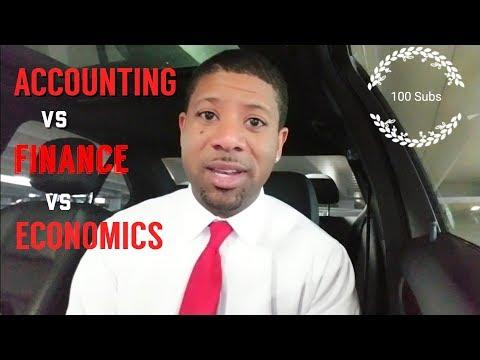 Accounting Degree vs Finance Degree vs Economics Degree