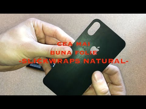 Slickwraps natural - iPhone X
