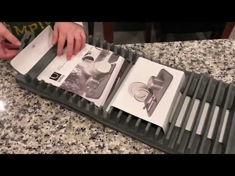 Best Kitchen Drying Rack 2018: Umbra uDry Drying Mat Video Review