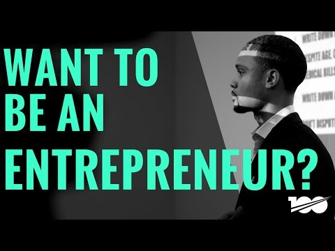 Want to be an entrepreneur? Watch