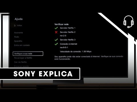 Sony | Suporte | TV | Principais dificuldades de navegação na Netflix em sua Android TV.
