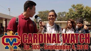 Cardinal Watch: ep. 103 - September 4th, 2018