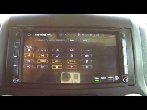 Android car stereo steering wheel controls