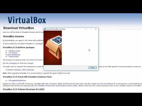 Cara Install Oracle VirtualBox di Windows PC