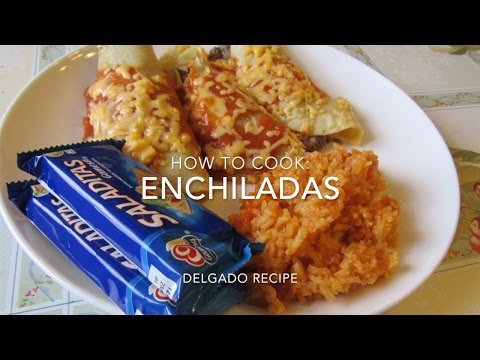 How to Cook: Beef Enchiladas