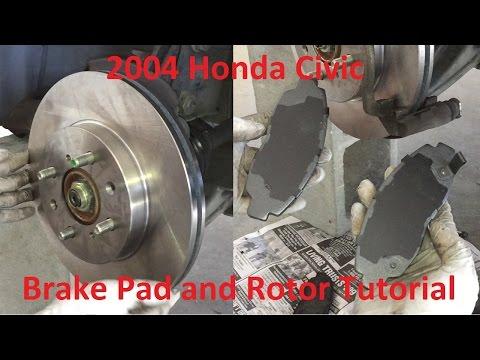 2004 Honda Civic Brake Pads Replacement