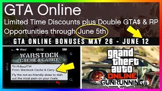 GTA ONLINE GUNRUNNING DLC RELEASE DATE DETAILS - NEW SECRET GTA 5 BONUSES YOU NEED TO KNOW & MORE!