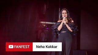 NEHA KAKKAR @ YouTube FanFest Mumbai 2018